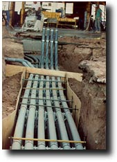 Commercial Underground Electrical Piping Dallas Fort Worth Electrical Contractor